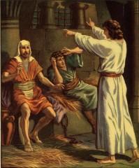 joseph interprets the dreams of pharoh's servants in prison.jpg