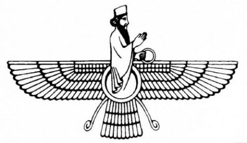 Risultati immagini per Zarathustra e Ahura Mazda