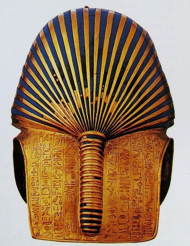 Il retro del sarcofago di Tuthankamon mostra un evidentissimo fallo con tanti di glande e prepuzio. La vittoria sulla morte viene dagli organi creatori ed escretori?
