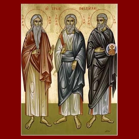 LA SANTA TRINITA DI ABRAMO, ISACCO e GIACOBBE
