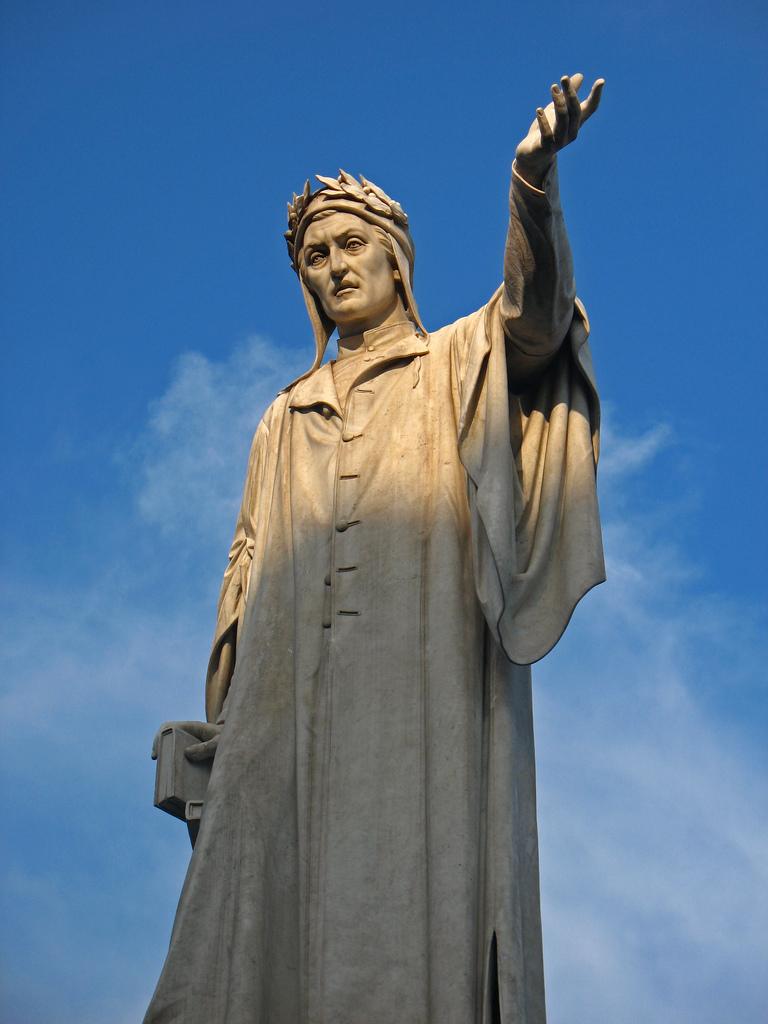 Statua-di-Dante-a-Napoli