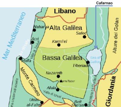 GALILEA. LA REGIONE DI GESU'