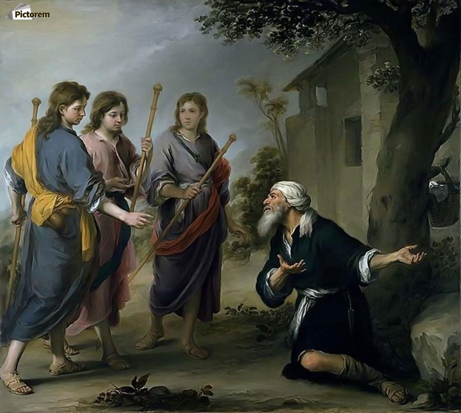 LA SS. TRINITÀ DI ABRAMO, DI ISACCO E DI GIACOBBE