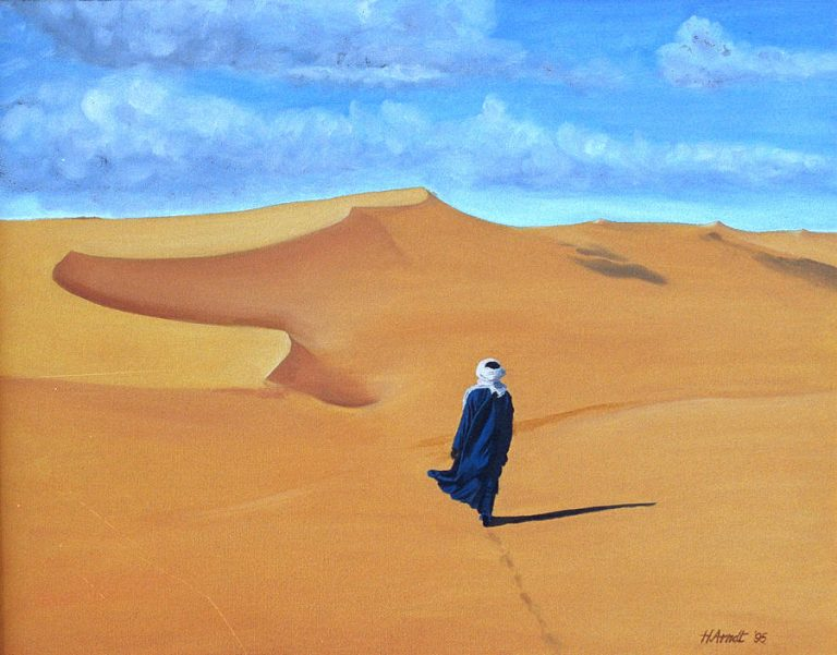 bedouin-walking-the-desert-hugh-arndt