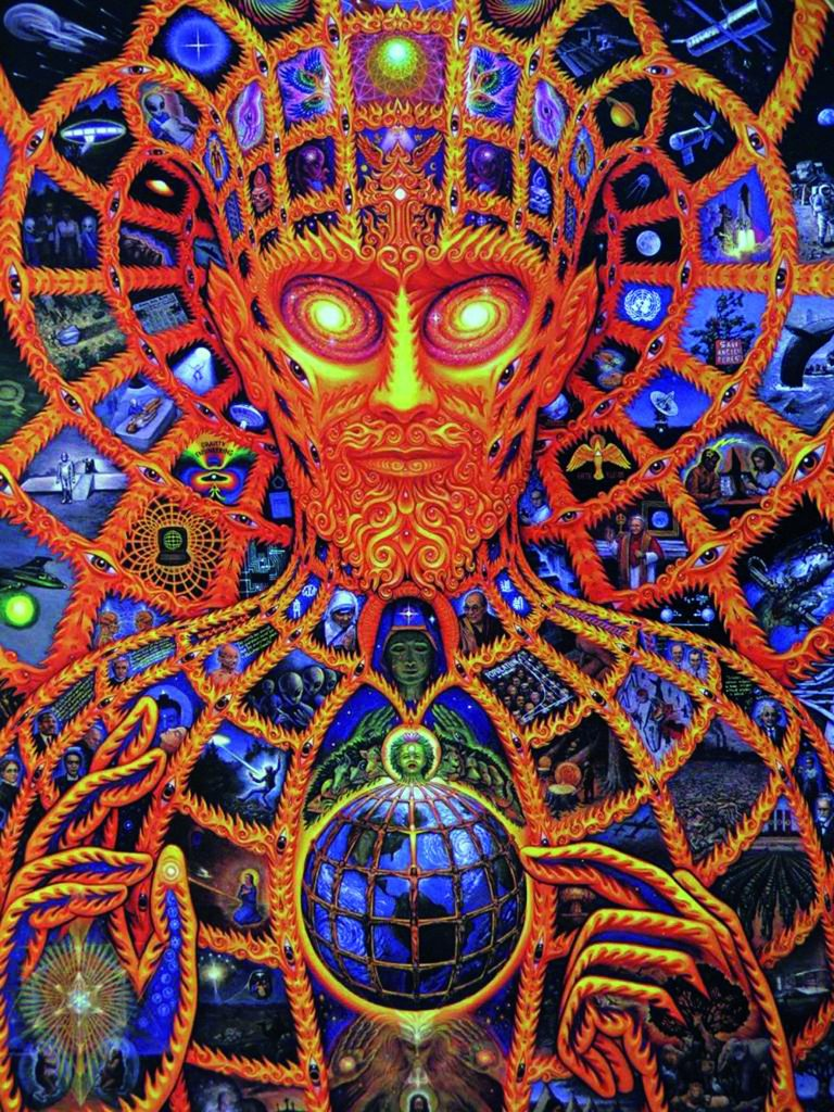 1) cosmic-christ alex grey tutto è uno