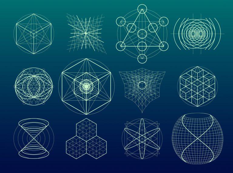 LA LEGGE MATEMATICA NASCOSTA DELLE FORME (per uno studio sulla Geometria Sacra)